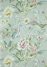 Vlies Tapete PT GALLERIA 1601/284 Blüten Zweige Vögel Hellgrün Bunt wunderschön