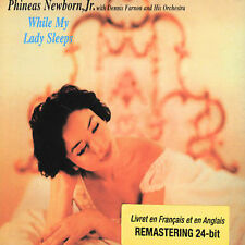 While My Lady Sleeps; Phineas Newborn Jr 2001 CD, Jazz Piano, 1957 Sessions, Bmg