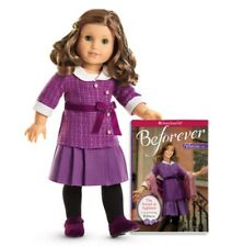 "**NEW** American Girl 'REBECCA' 18"" Doll and Book - NIB"
