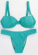 ROSA CHA GREEN UNDERWIRED PADDED CUP BIKINI SET SIZE S