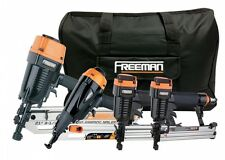 Freeman P4FRFNCB Framing/Finishing Combo Kit with Canvas Bag, 4-Piece New