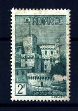 MONACO - 1939-1946 - Stemma nazionale e Palazzo