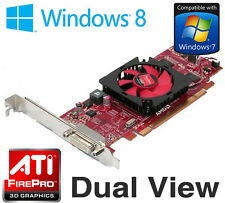 AMD FirePro 2270 512MB PCI-Express DMS-59 Dual Display Graphics Card JCPR7