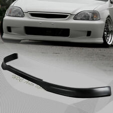 For Honda Civic 2/3/4DR Type-R Style Polyurethane Front Bumper Body Kit Lip 99