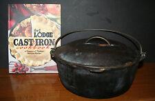 Cast Iron Dutch Oven Pot with Lid and 2012 Cookbook EUC  4 QT? EUC