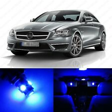 17 x Ultra Blue LED Interior Light Package For 2010 -2013 Mercedes E Class W212
