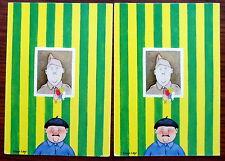 Carte postale L'homme épinglé, Dan Lay , postcard