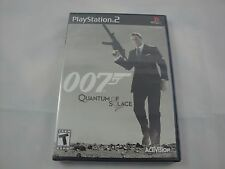 James Bond 007: Quantum of Solace  (Sony PlayStation 2, 2008) *NEW SEALED