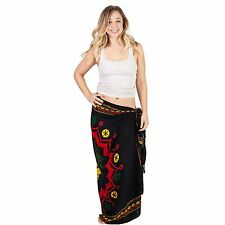 Women's Rasta Lion Beach Pool Wrap Cover Up Sarong-Rasta B-One Size-51061