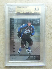 09-10 UD Black Diamond Quad Rookie Gems MATT DUCHENE #221 SP RC Graded BGS 9.5