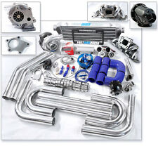 T04E T3 T3/T4 Turbo Kit Top Mount Manifold 350HP For 240SX S13 S14 KA24 KA24DE
