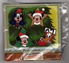Disney Parks 2009 Very Merry Christmas Party Pin Set Booster Pack New LE 500