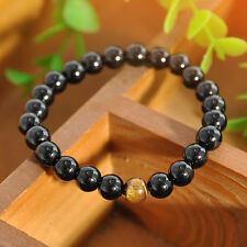 Wholesale Unisex Men's Women's Jewelry Agate Tiger Eye Beads Bangle Bracelet