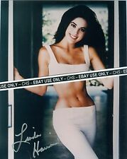"""LINDA HARRISON VERY SEXY!! SIGNED COLOR 8x10 PHOTO """"PLANET OF THE APES"""""""