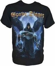 GRAVE DIGGER The Grim Reaper T-Shirt - L / Large - 163711