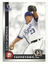 2010 Topps Ticket to Topps Town - #TTT8 - Zack Greinke - Kansas City Royals