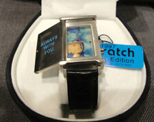 Doratch Doraemon Watch Limited Edition 1997 Japan Leather Band Rare New w/Tag