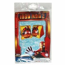 Inflatable Arm Floats Bands Marvel Avengers IRON MAN 2 Age 3+ Yellow Red NEW