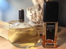 *EXPRESSION by JACQUES FATH* *RARE & HARD TO FIND EXTRAIT AND EDT* * *VINTAGE*