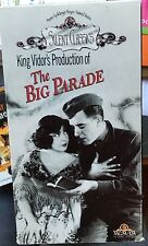 The Big Parade (VHS) 1927 silent classic stars John Gilbert