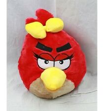 "Angry Birds RED Girl PLUSH BACKPACK 14"" For Kids BRAND NEW - Licensed Product"