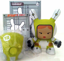 "DUNNY 3"" POST APOCALYPSE HUCK GEE MECHA TROOPER GREEN VARIANT 1/16 KIDROBOT TOY"