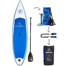 "Supflex 10'8"" All-Around Inflatable Stand Up Paddle Board,Paddle,Fins,Leash,Bag"