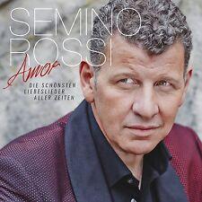 SEMINO ROSSI - AMOR-DIE SCHÖNSTEN LIEBESLIEDER ALLER ZEITEN  CD NEU