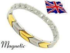 Magnet Magnetic 316L Stainless Steel Energy Power Bracelet Health Bio unisex