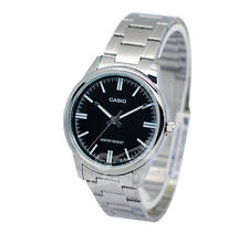 -Casio MTPV005D-1A Men's Analog Metal Watch New & 100% Authentic