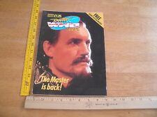 Doctor Who Magazine 1989 The Master Anthony Ainley poster NO LABEL #148