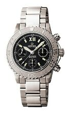 Gevril Men's 3103  Sea Cloud Swiss Automatic Chronograph Stainless Steel Watch