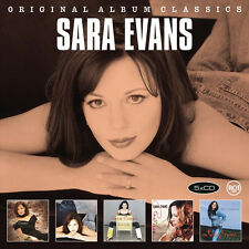 Sara Evans ORIGINAL ALBUM CLASSICS Box Set REAL FINE PLACE Restless NEW 5 CD