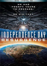 Independence Day: Resurgence (DVD + Digital HD, 2016) NEW SHRINK WRAPPED!!