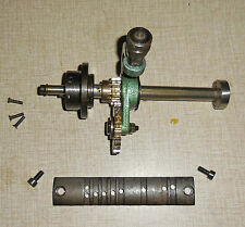 Emco Maximat V10-P Lathe Power Feed Front Axle Assembly & Gear Shift Lever 0510