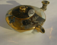Antique Japanese Art Nouveau  Bee, Butterfly & DF inspired Teapot  c. 1893