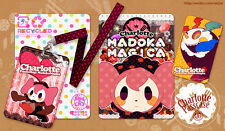 Puella Magi Madoka Magica Candy Witch Charlotte Peripheral Products Ticket Clip