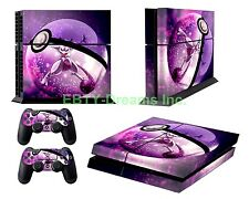 Pokemon Anime Legendary Mewtwo Pokeball Skin Sticker Decal Protector for PS4