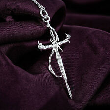 K Project The Sword of Damocles Necklace Pendant 925 Silver Cosplay Gift