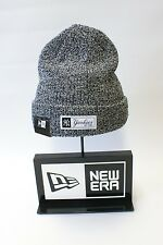New Era Mlb New York Yankees NY parche logotipo Beanie Sombrero de Invierno de Punto Blanco Negro