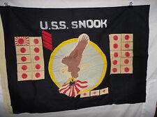 flag208 WW 2 US Navy USS Snook submarine flag SS-279