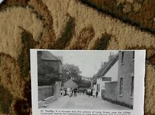 r5 ephemera reprint picture 1900s thurlby village
