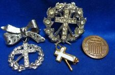 Vintage American Red Cross and Shepard's Staff Pins Lot Of 4