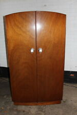 Beautiful Pre-war bow-fronted Wardrobe/drawer cabinet