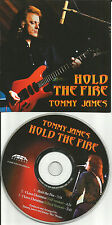 TOMMY JAMES Hold the Fire & Christmas EDIT PROMO DJ CD Single AND THE SHONDELLS