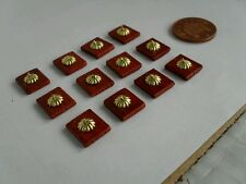 12 DOLLS HOUSE LIGHT SWITCHES TO COMPLETE YOUR DOLLS HOUSE