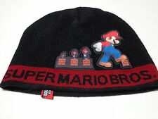 Super Mario Brothers beanie Power Up toque winter hat