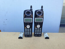 2-PANASONIC KX-TGA242B 2.4GHz SINGLE LINE CORDLESS EXPANSION HANDSET ONLY