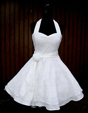 50er,Petticoat, Rockabilly,Braut,Hochzeits,Abiball,Konfirmations,Kleid,Dress