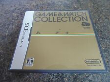 GAME & WATCH COLLECTION  CLUB NINTENDO DS JAPAN DONKEY KONG OIL PANIC GREENHOUSE